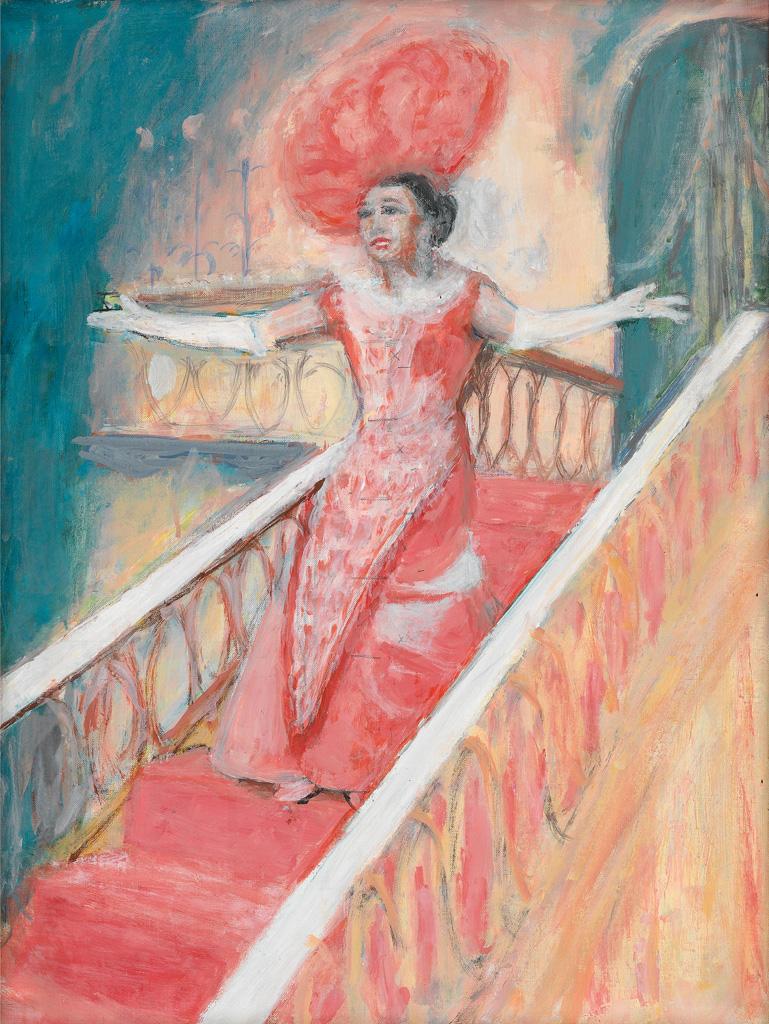 ALMA W. THOMAS (1891 - 1978) Hello Dolly.