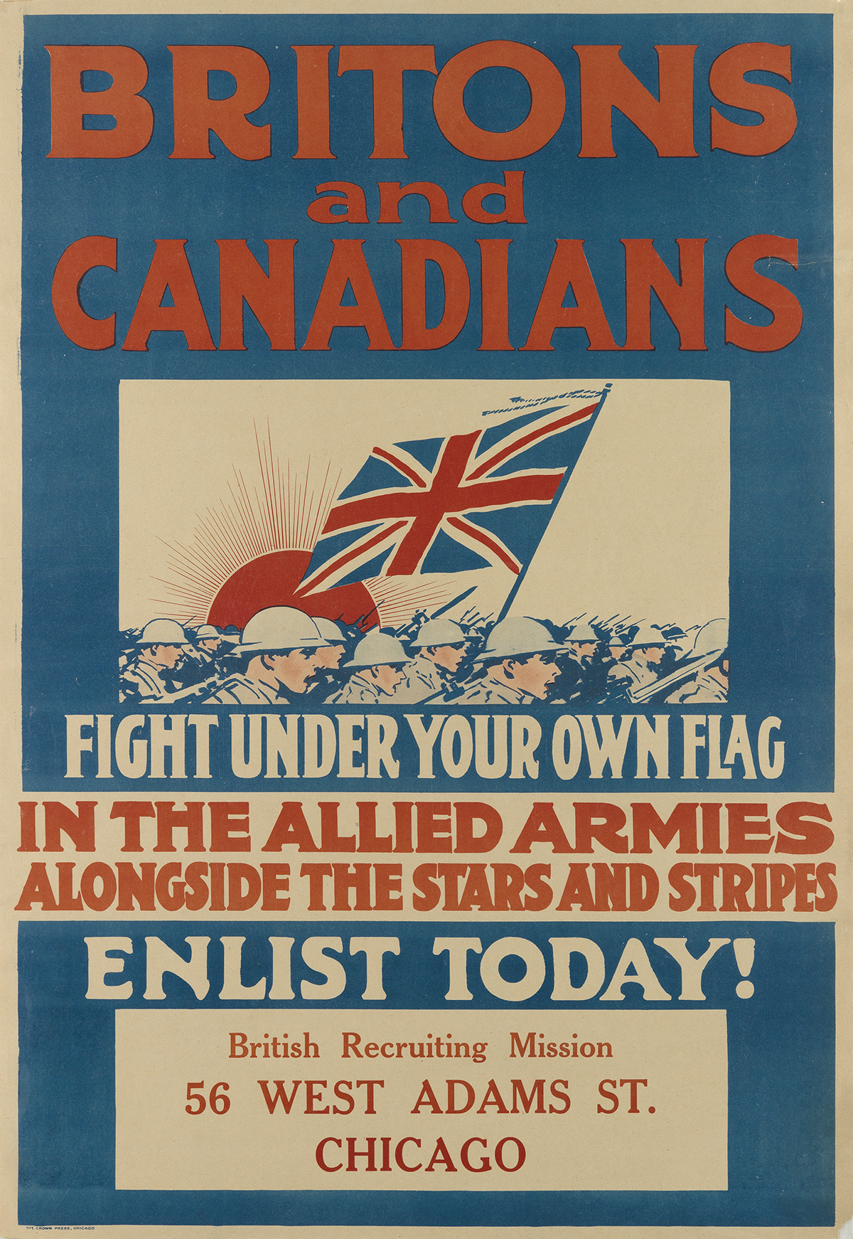 VARIOUS-ARTISTS-[WORLD-WAR-I]-Group-of-10-posters-Sizes-vary