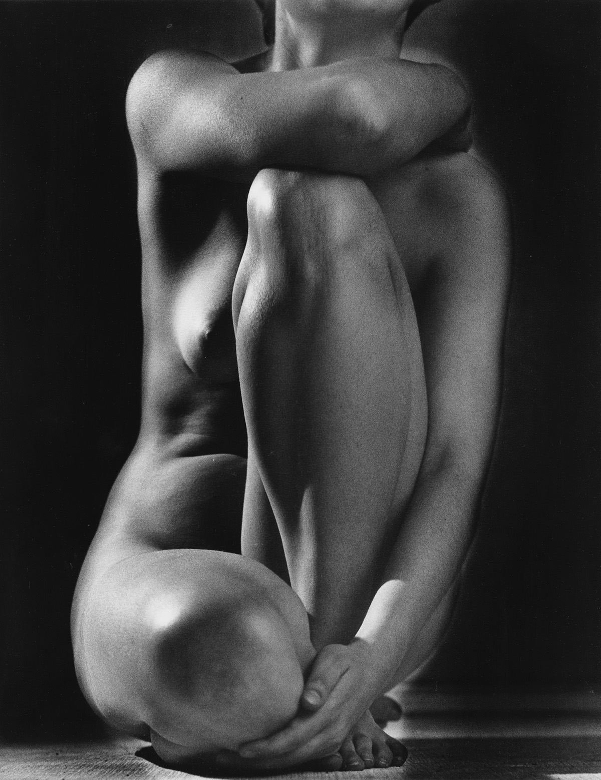 RUTH BERNHARD (1905-2006) Classic Torso.