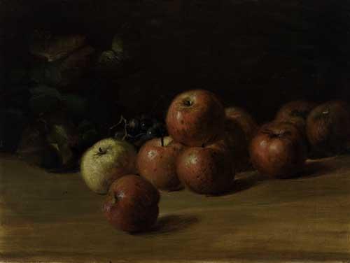 CHARLES-ETHAN-PORTER-(1847---1923)-Untitled-(Apple-Still-Lif