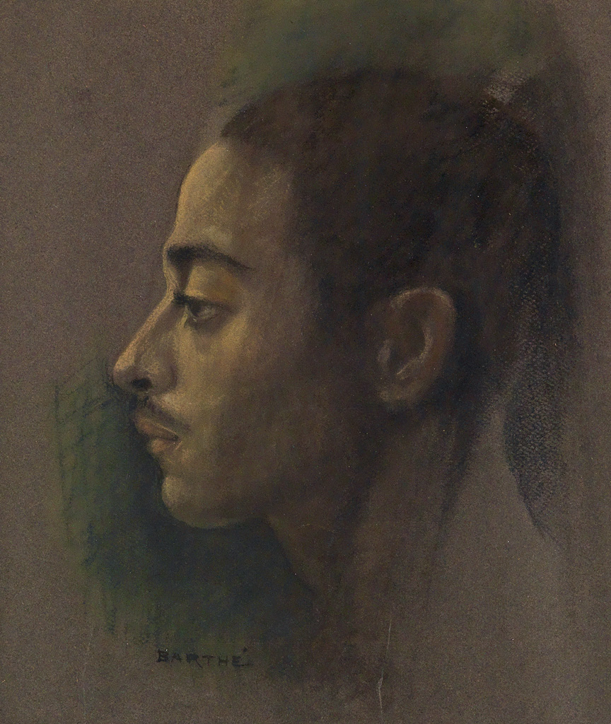 RICHMOND-BARTHÉ-(1909---1989)-Untitled-(Portrait-of-a-Young-