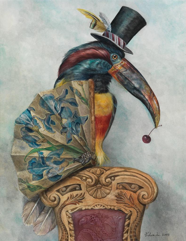 WALLACE-EDWARDS-Dandy-Toucan--Fancy-Falcon