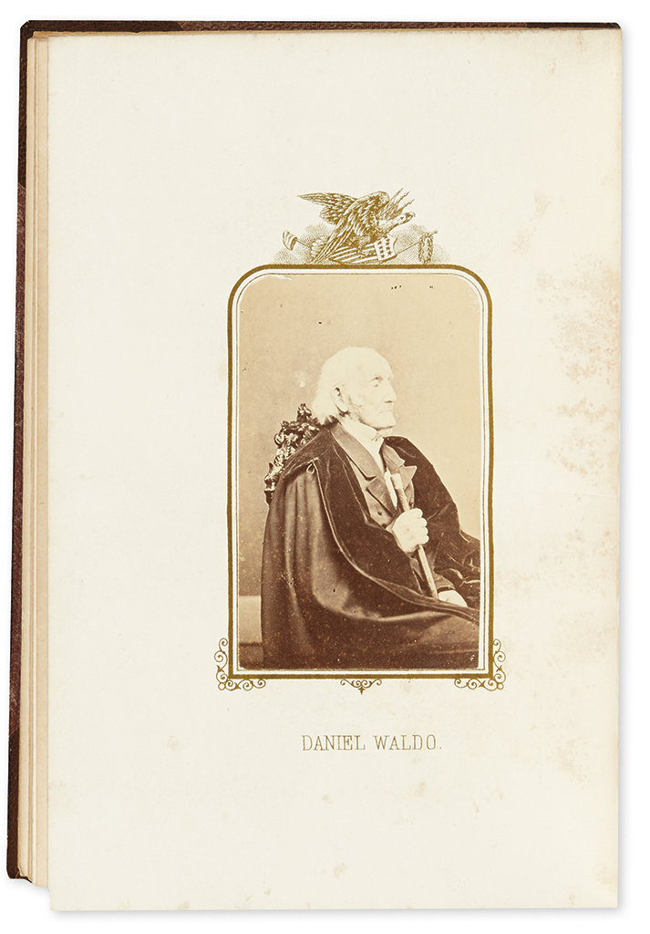 (AMERICAN REVOLUTION--HISTORY.) Hillard, Elias B. The Last Men of the Revolution: A Photograph of Each from Life.