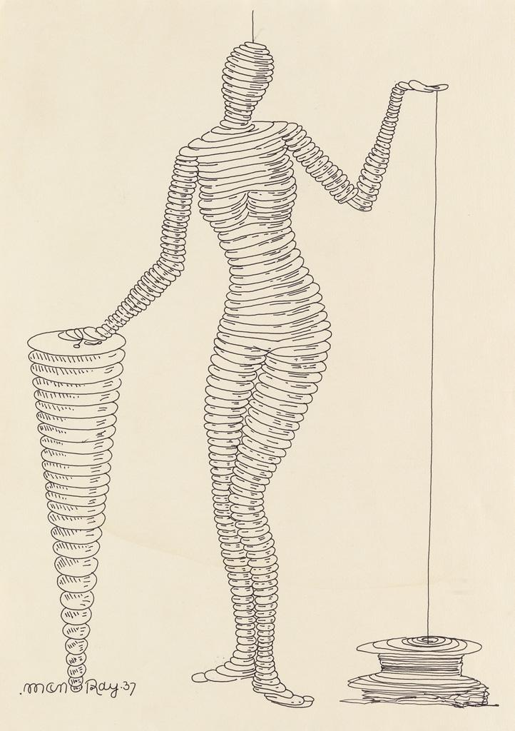MAN RAY. La Femme Portative.
