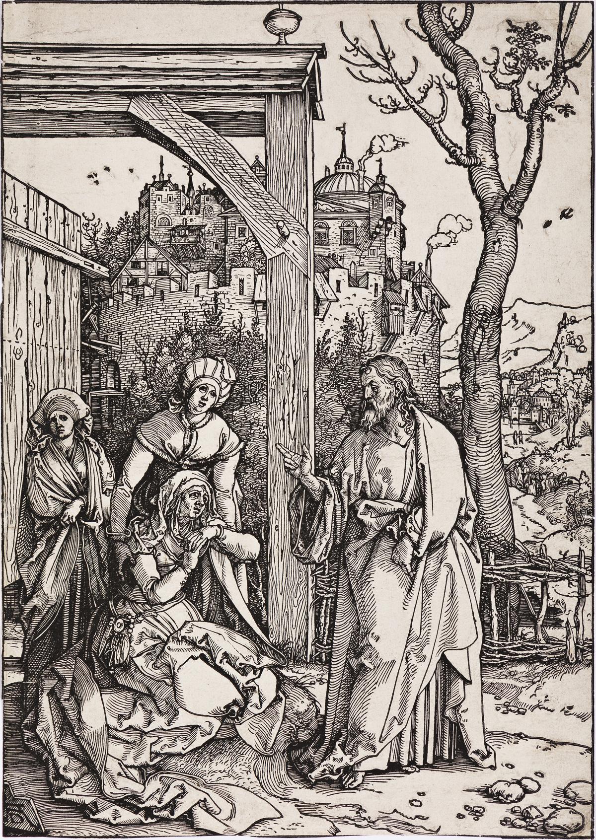ALBRECHT DÜRER Christ Taking Leave from his Mother.