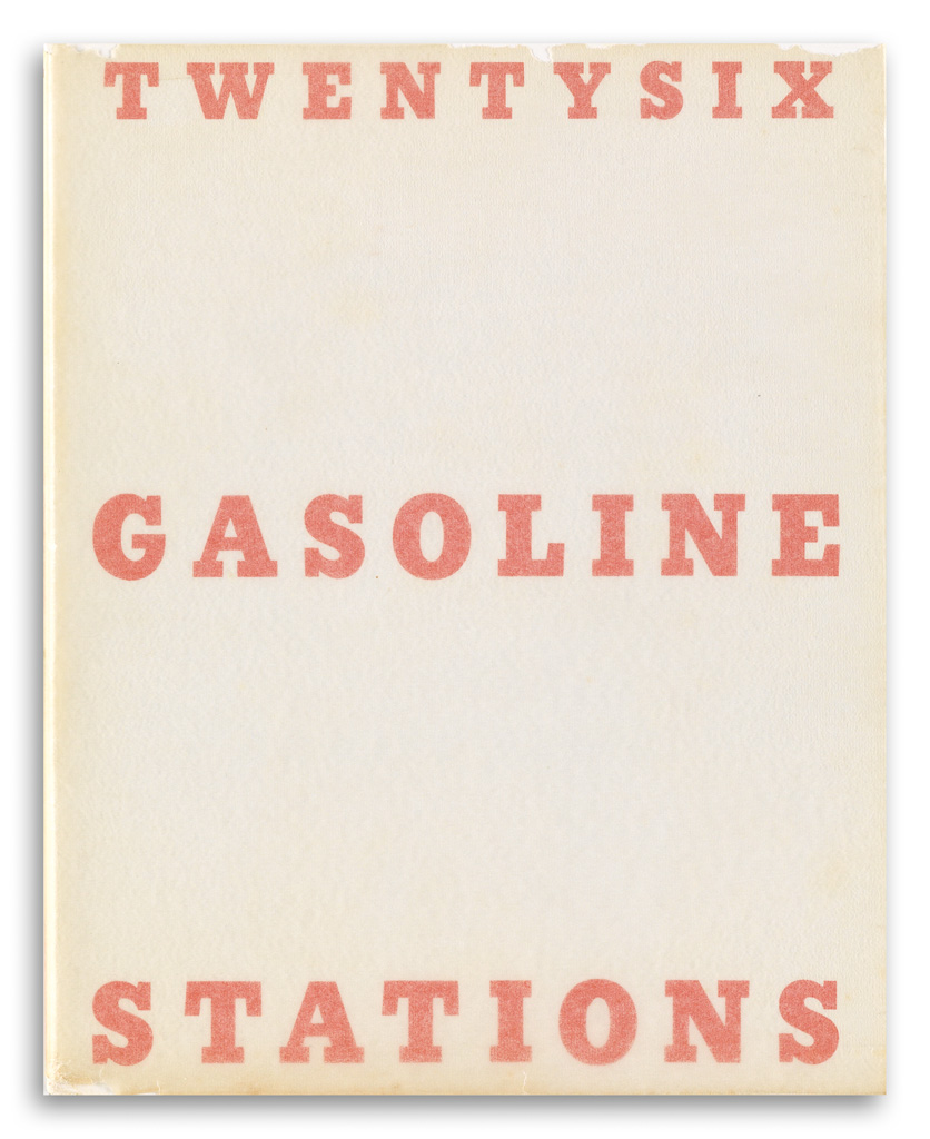 EDWARD RUSCHA. A fine collection including 13 of Ruschas renowned artists books.