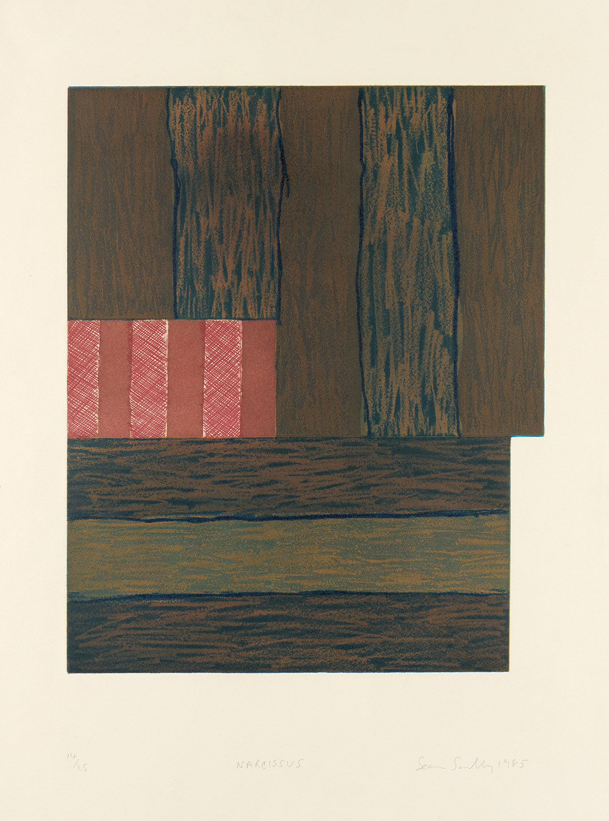 SEAN SCULLY Narcissus.