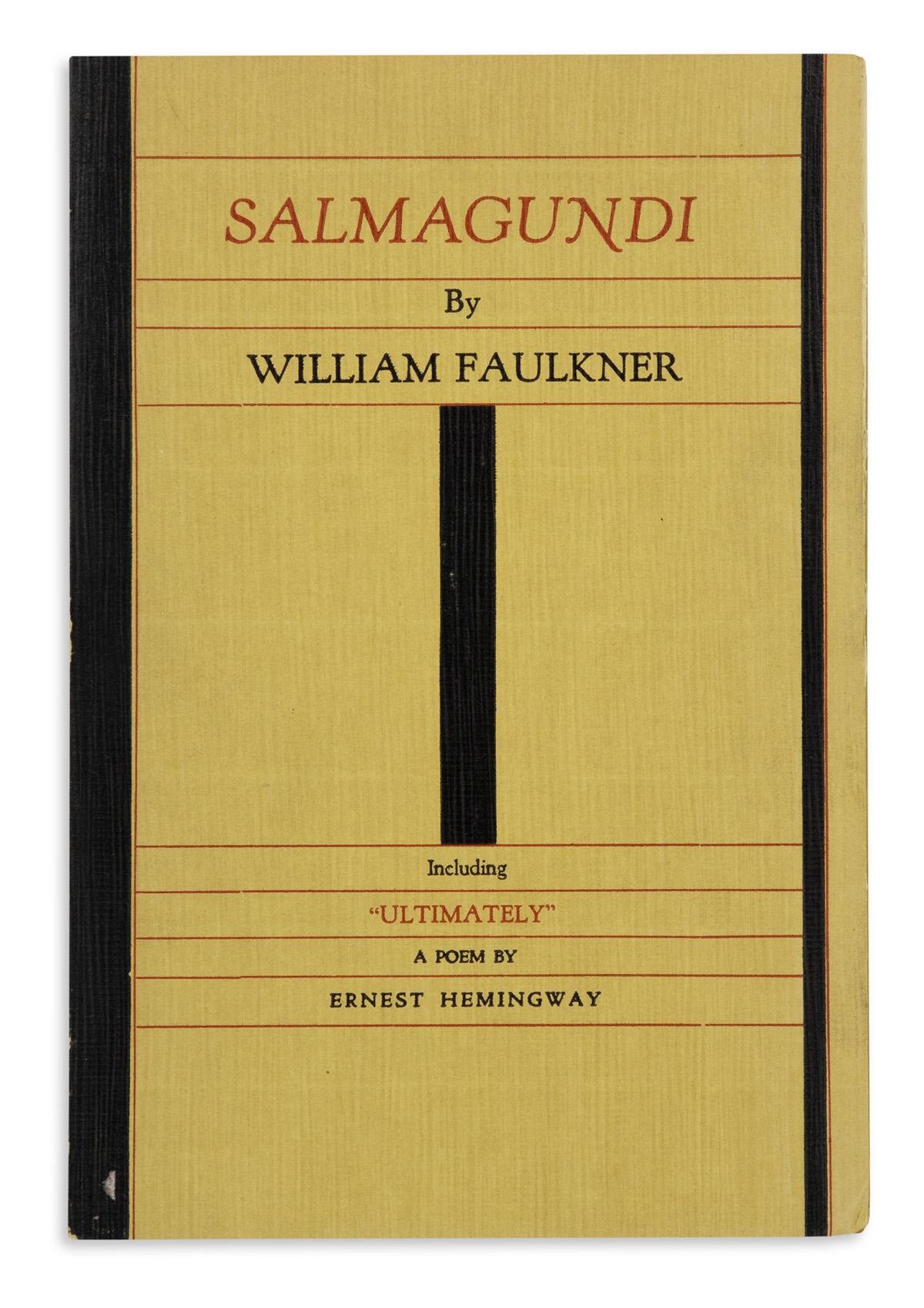 FAULKNER-WILLIAM-Salmagundi-and-a-Poem-by-Ernest-Hemingway