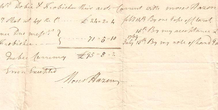American-Revolution-HAZEN-MOSES-Document-Signed