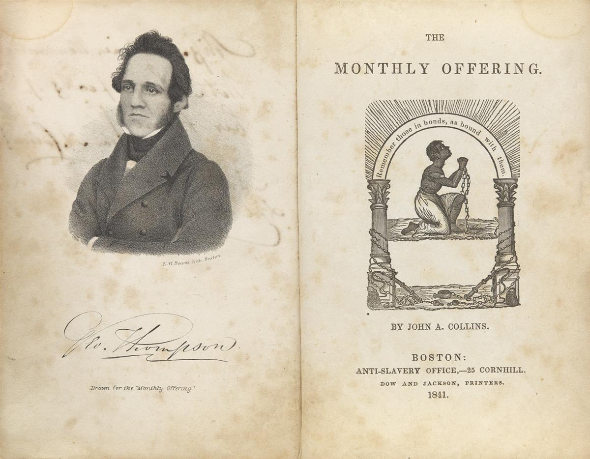 (SLAVERY-AND-ABOLITION)-[Collins-John-A;-editor]-The-Monthly-Offering