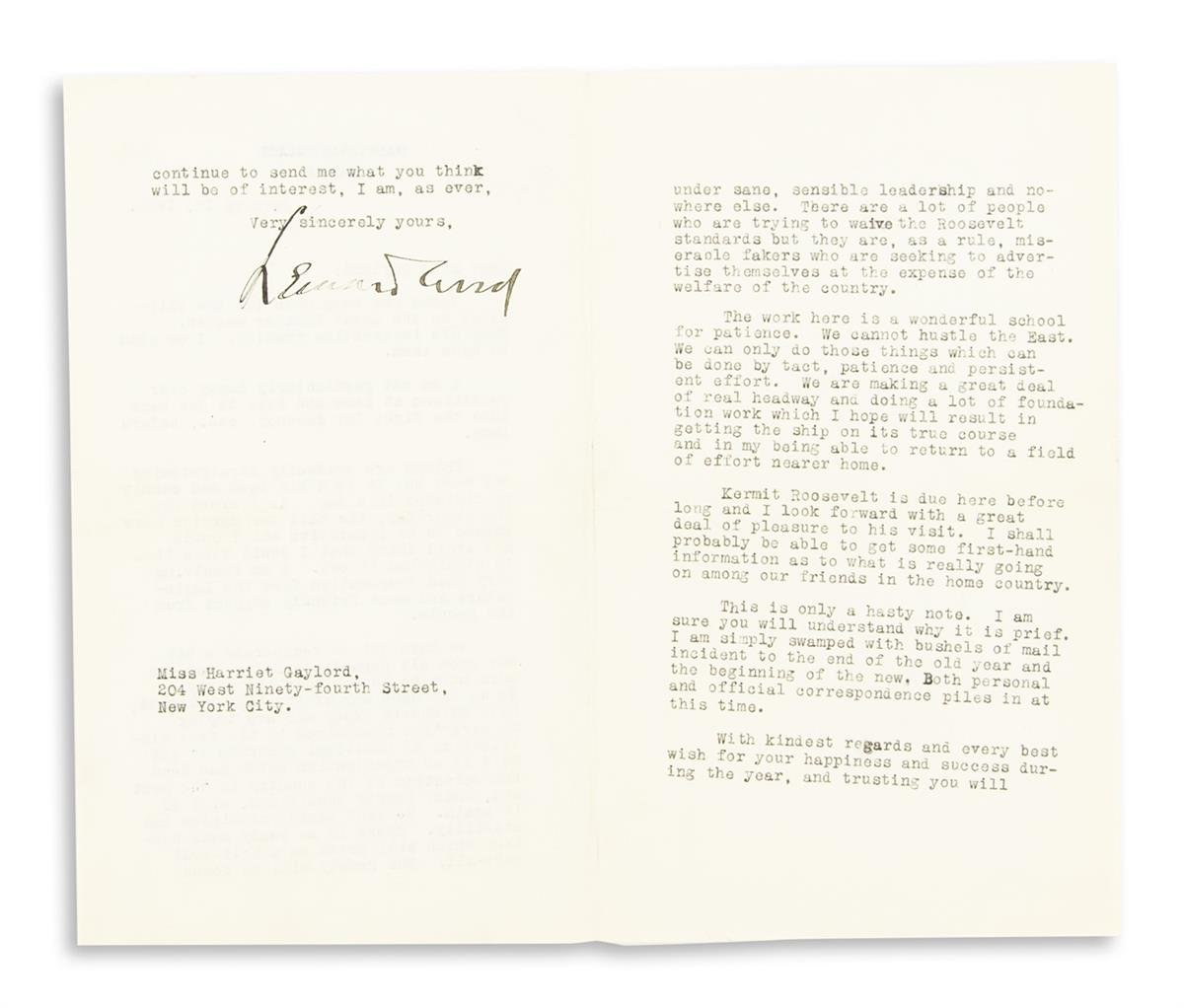 WOOD-LEONARD-Typed-Letter-Signed-as-Governor-General-to-Harr