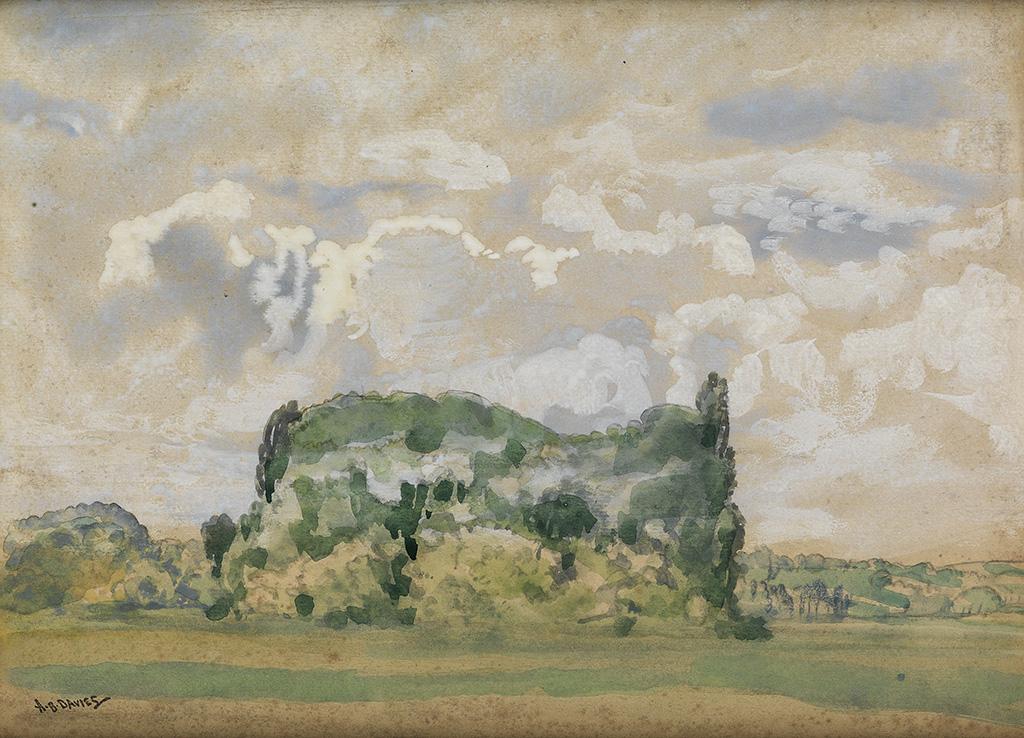 ARTHUR-B-DAVIES-Landscape-France