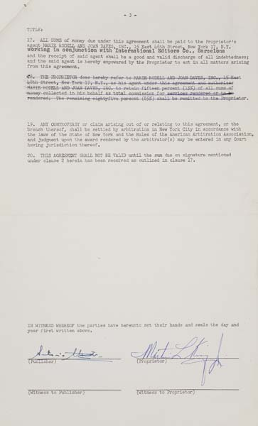 KING-MARTIN-LUTHER-Typed-Document-Signed-Martin-L-King-Jr