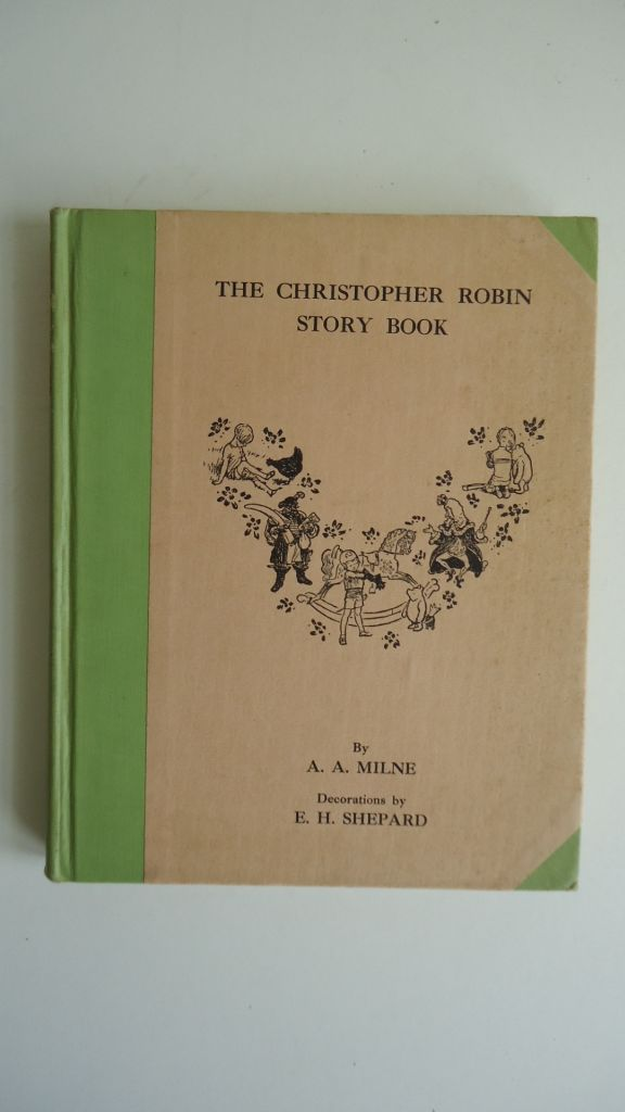 (CHILDRENS-LITERATURE)-Milne-AA-The-Christopher-Robin-Story-Book