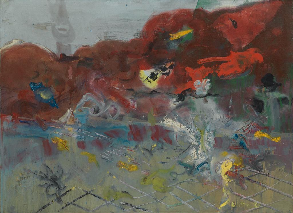 JACK WHITTEN (1939 - 2018) Untitled.