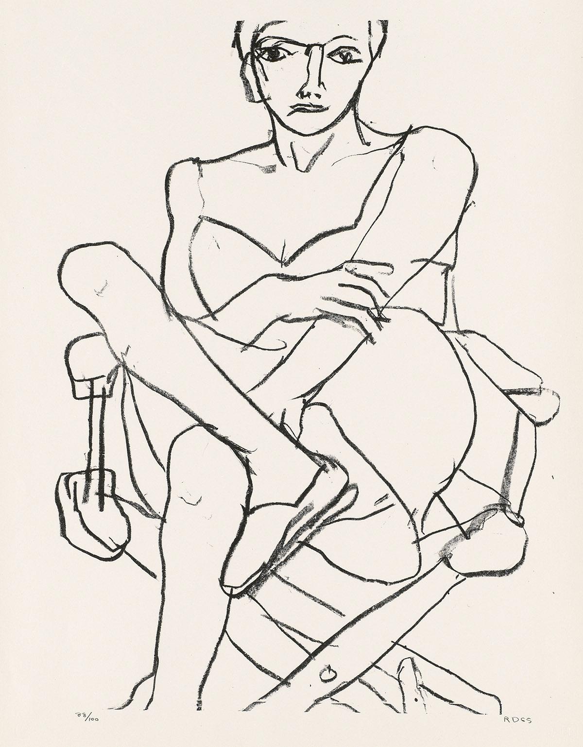 RICHARD-DIEBENKORN-Seated-Woman-in-Chemise