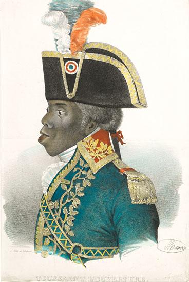 (HAITI.) L'OUVERTURE, TOUSSAINT. Toussaint L'Ouverture.