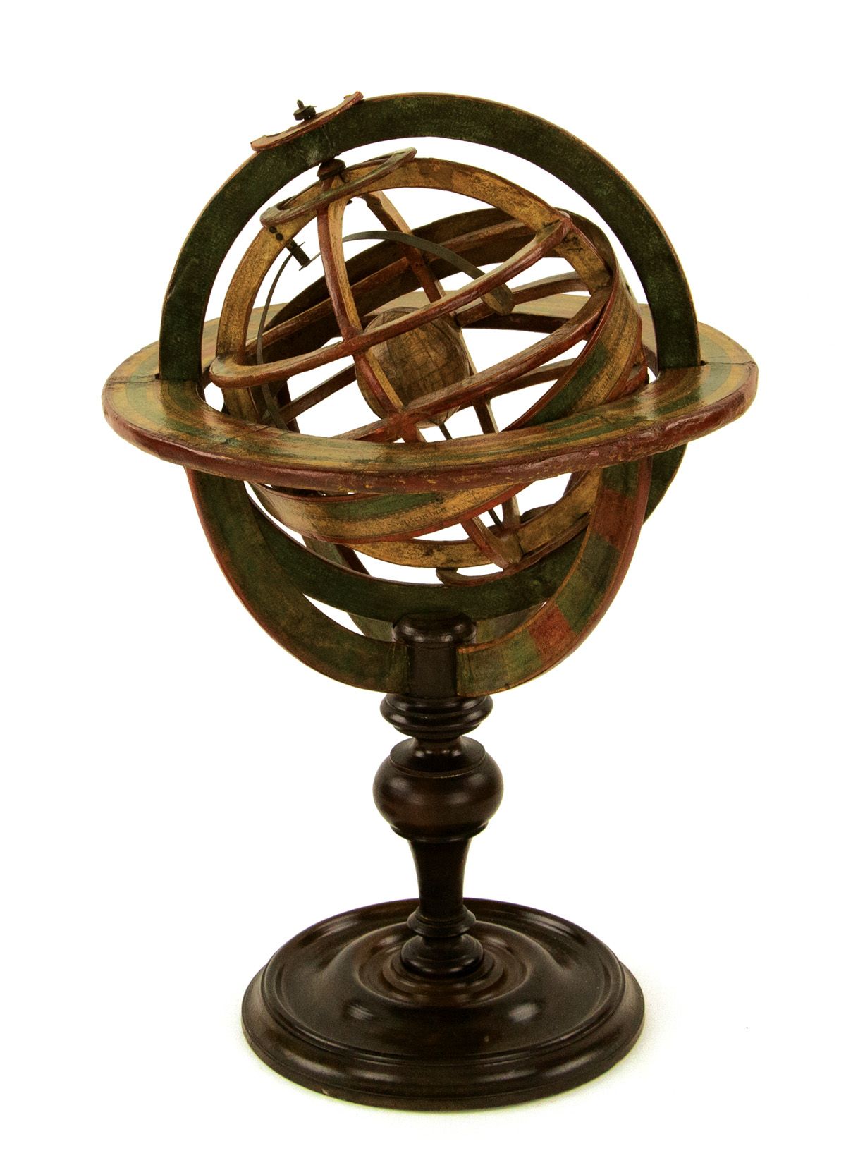 (GLOBES -- ARMILLARY SPHERE.) S. Fortin. [18th-century Ptolemaic armillary sphere.]