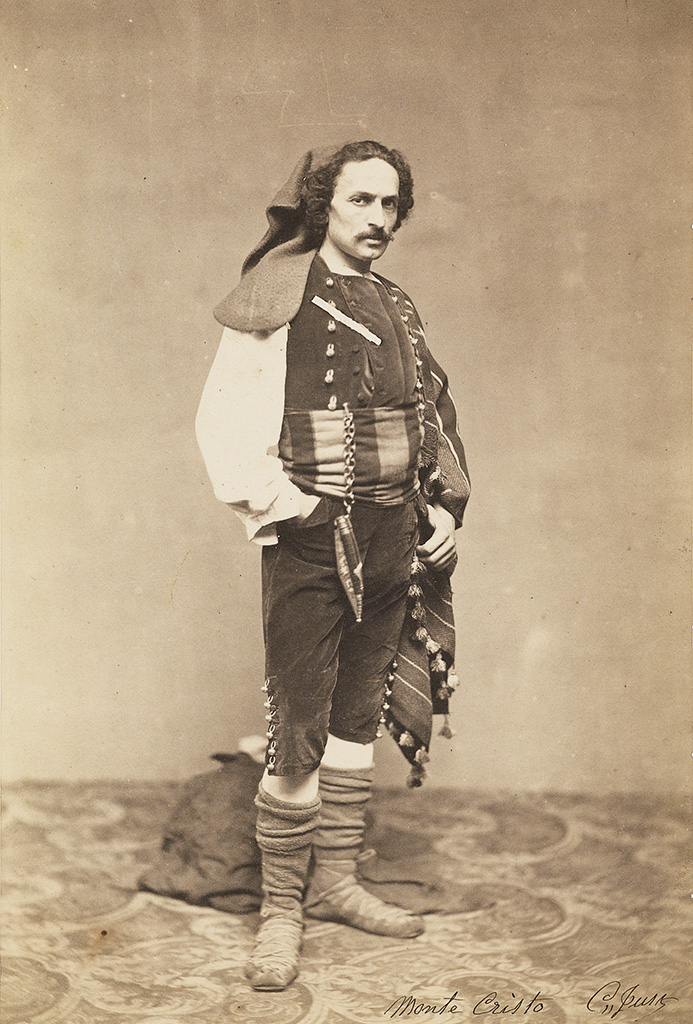 (THEATRICAL) Personal scrapbook-cum-album associated with the French theatrical photographer Clement-Just, with