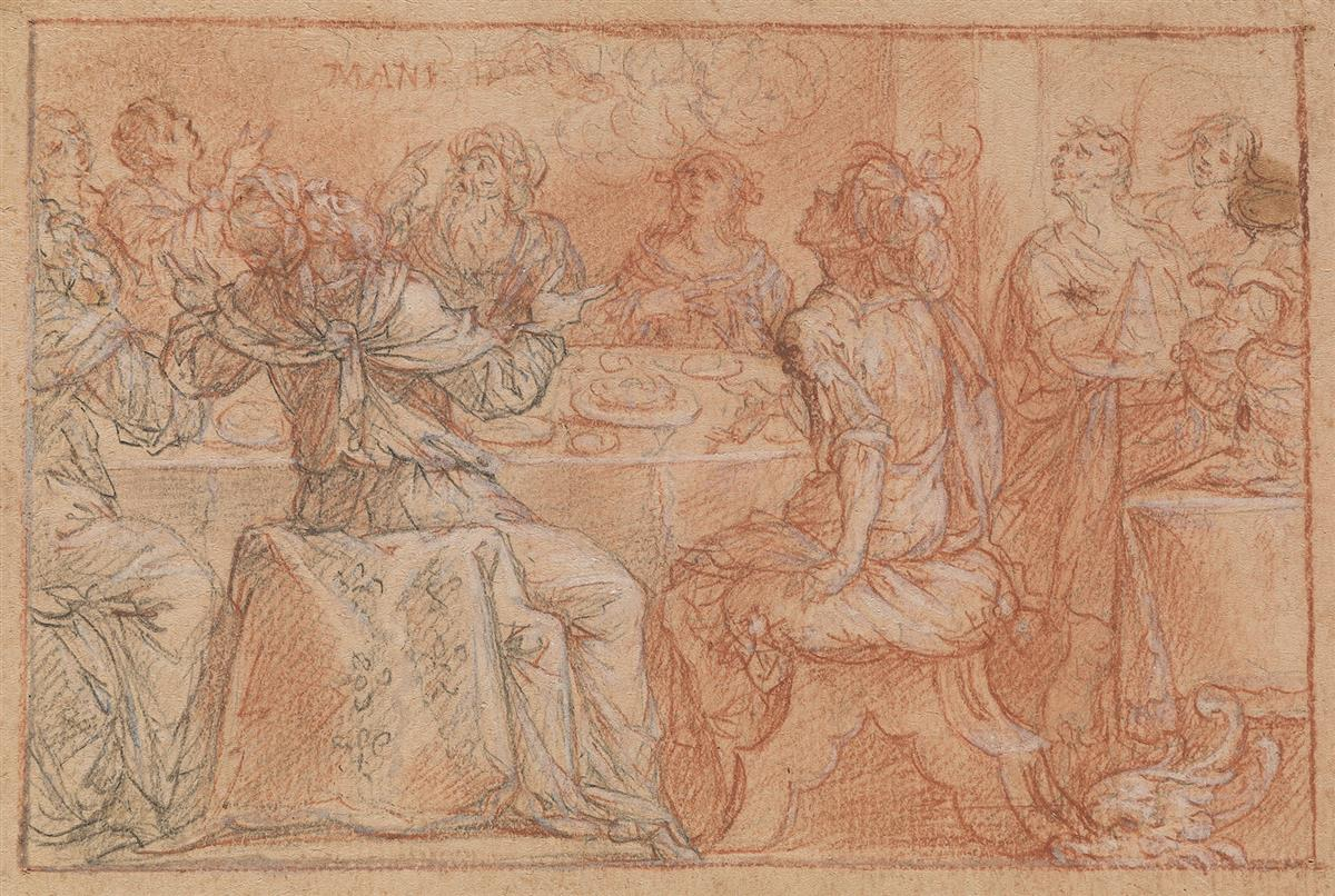 JACOPO-CONFORTINI-(Florence-1602-1672-Florence)-The-Feast-of