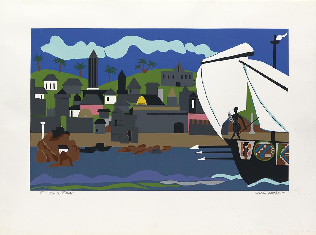 ROMARE BEARDEN (1911 - 1988) Odysseus Suite.