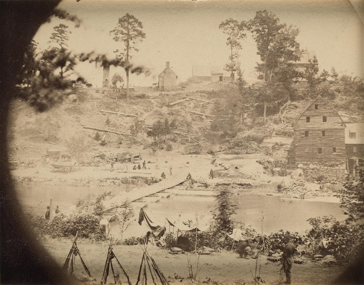 ALEXANDER-GARDNER-(1821-1882)-Group-of-19-Civil-War-views-of