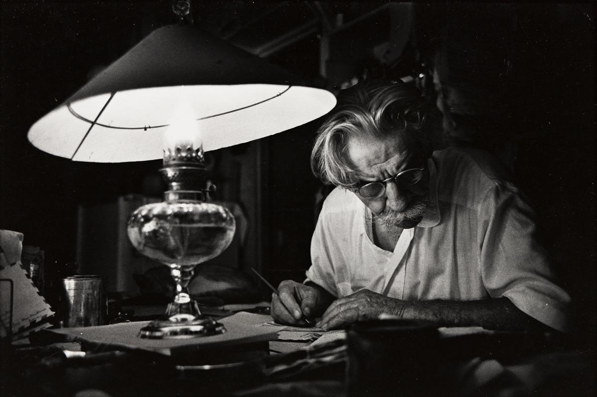 W. EUGENE SMITH (1918-1978) Albert Schweitzer, Lambaréné.