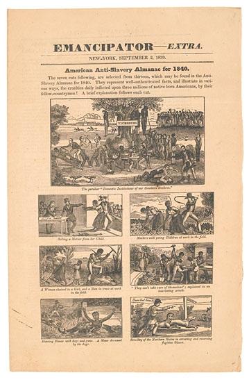 (SLAVERY AND ABOLITION.) Emancipator Extra.