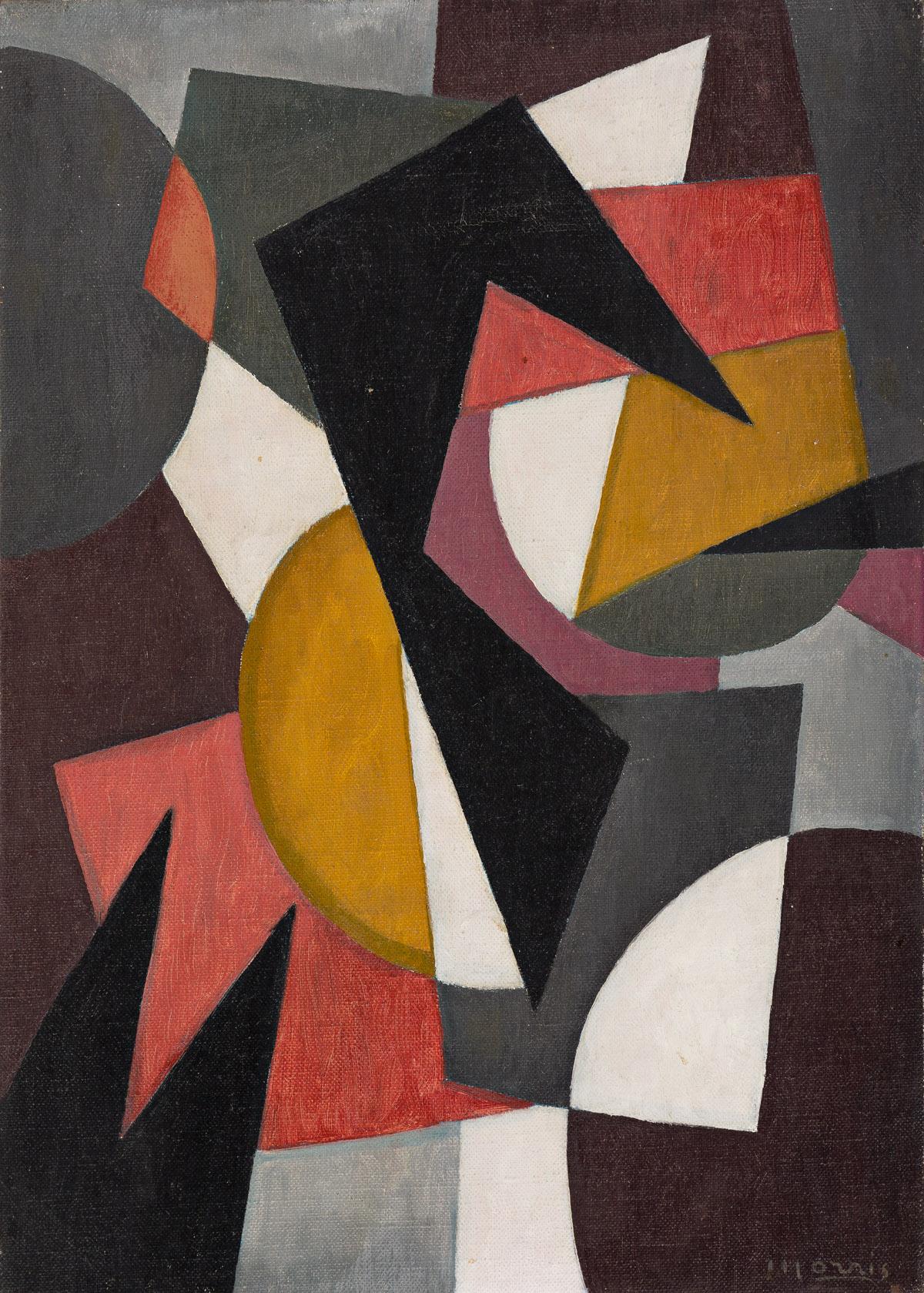 GEORGE L. K. MORRIS (1905-1975) Composition #9.
