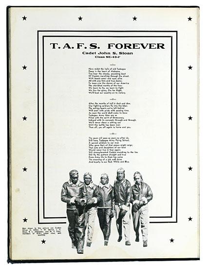 (MILITARY.) TUSKEGEE AIRMEN. Tuskegee Army Flying School Year Book.