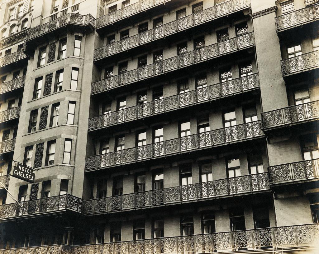 BERENICE ABBOTT (1898-1991) Chelsea Hotel.