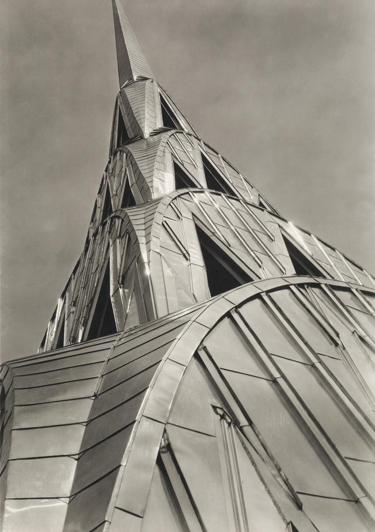 (MARGARET-BOURKE-WHITE)-(1904-1971)-Chrysler-Building-New-Yo
