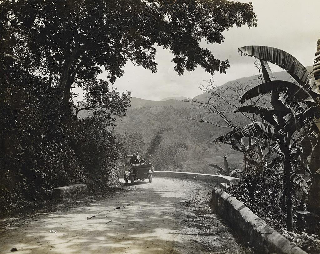 (CARIBBEAN) BOWN & DAWSON, photographers Caribbean travel album entitled Cruise of the S. S. Kronprinzessin Cecilie,
