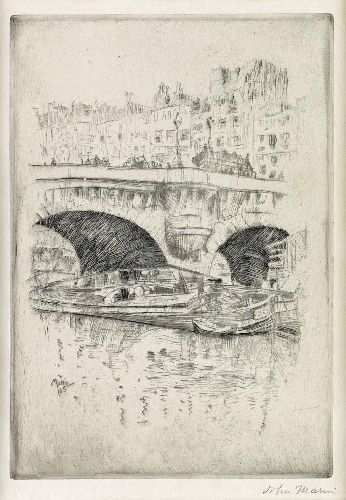 JOHN-MARIN-Pont-Neuf-Paris