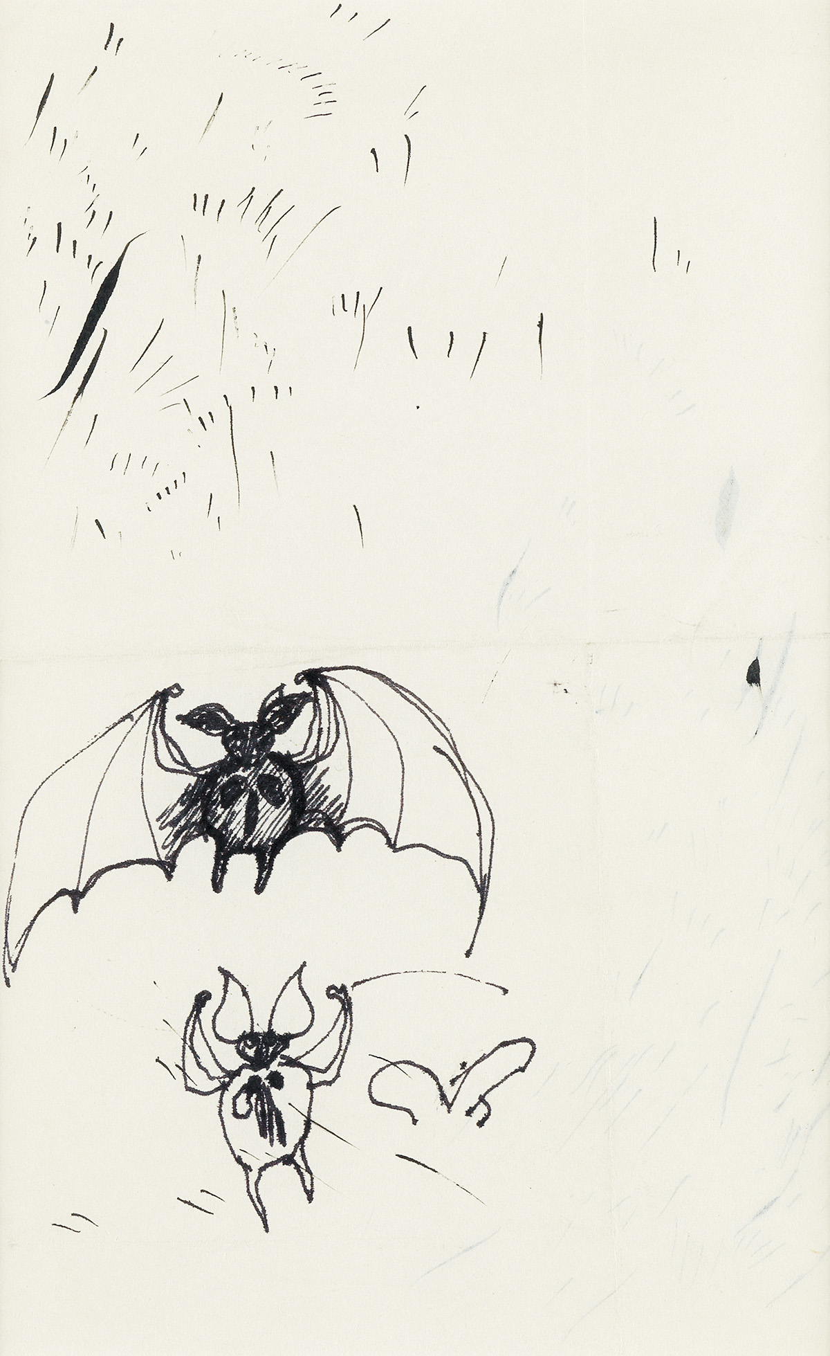 EDWARD-GOREY-Group-of-sketches-for-Dracula