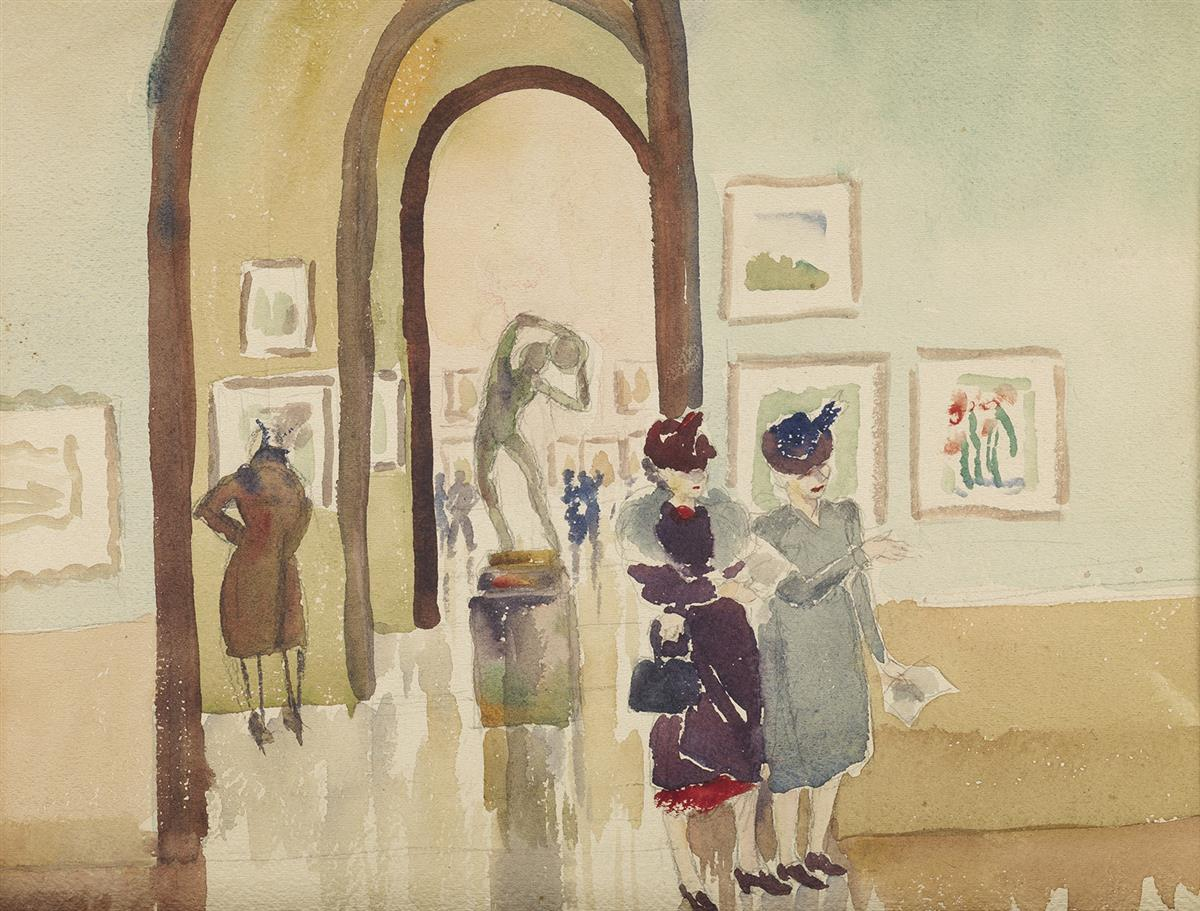 LAURA WHEELER WARING (1887 - 1948) Untitled (National Art Gallery).