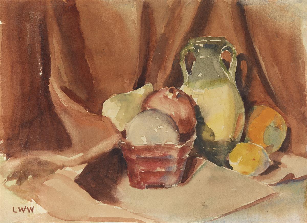 LAURA-WHEELER-WARING-(1887---1948)-Arrangement-of-Fruit