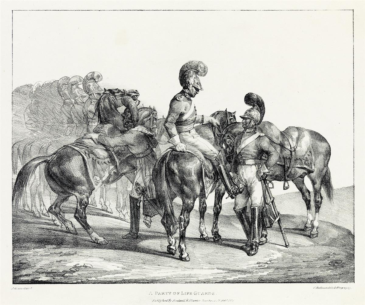 THÉODORE-GÉRICAULT-A-Party-of-Life-Guards