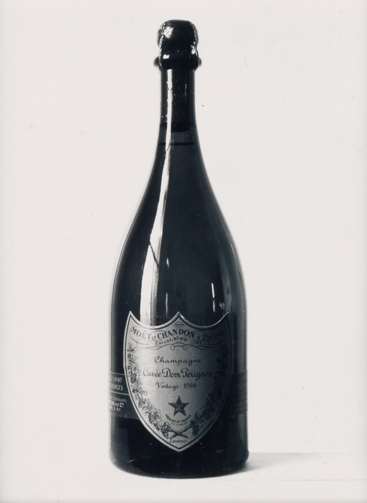 MAPPLETHORPE, ROBERT (1946-1989) Cuveé Dom Perignon (a New Years Card).