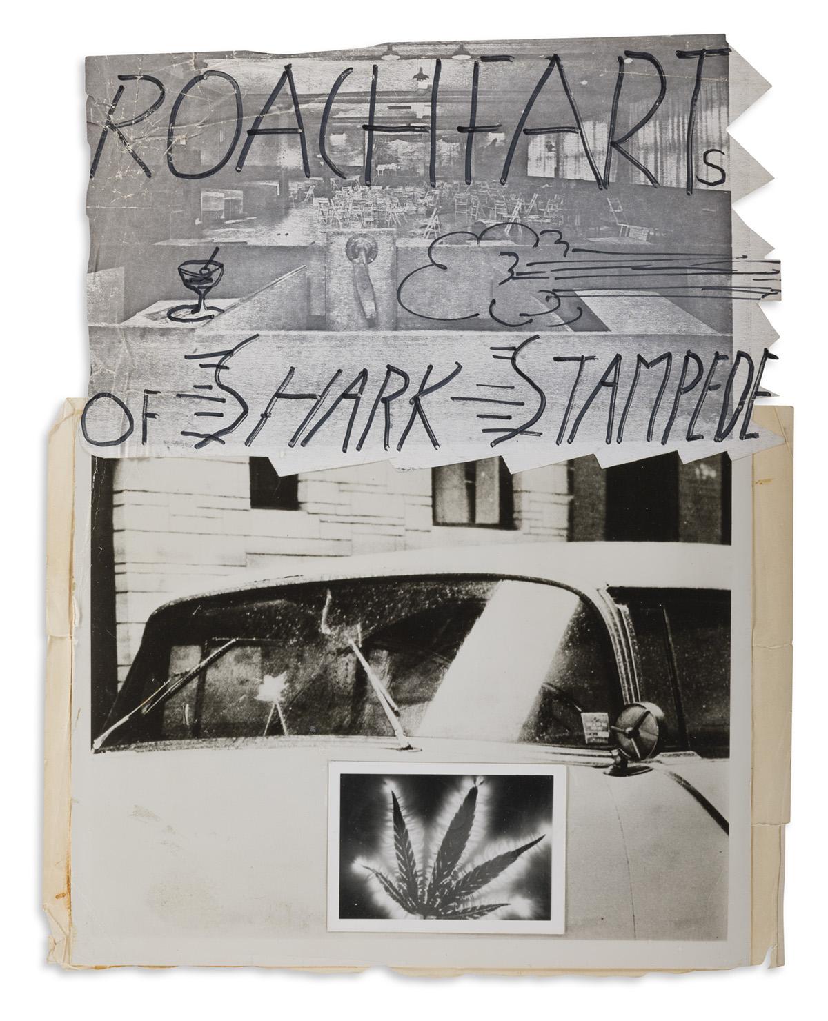 JACK SMITH (1932-1989) Roach Farts of Shark Stampede.