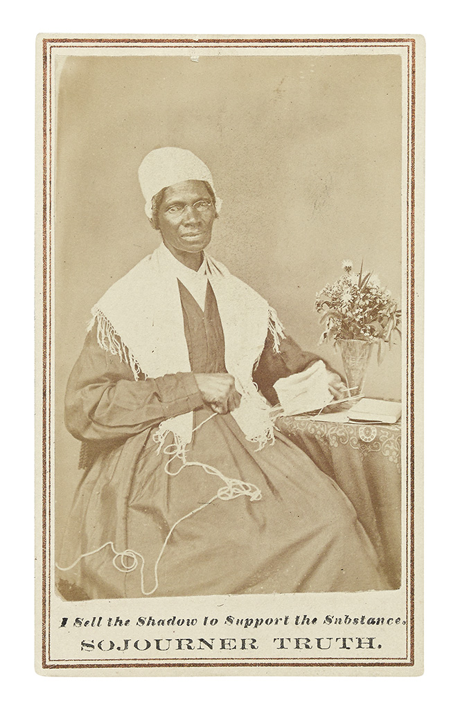PHOTOGRAPHY. BAUMFREE, ISABELLA, SOJOURNER TRUTH. I Sell the Shadow to Support the Substance.