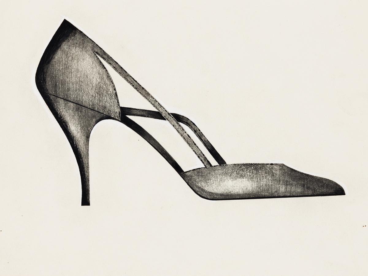 ANDY WARHOL Shoe.