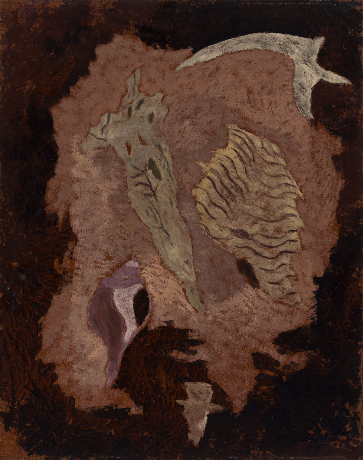 THEODOROS STAMOS (1922 - 1997, AMERICAN) What the Wind Does, (Still Life, Fire Island).