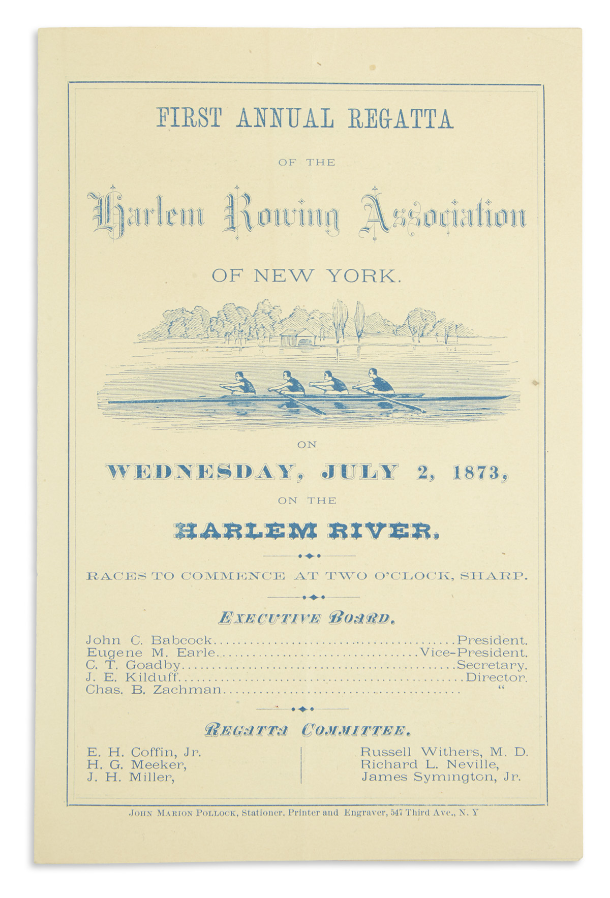 (SPORTS--ROWING)-First-Annual-Regatta-of-the-Harlem-Rowing-A