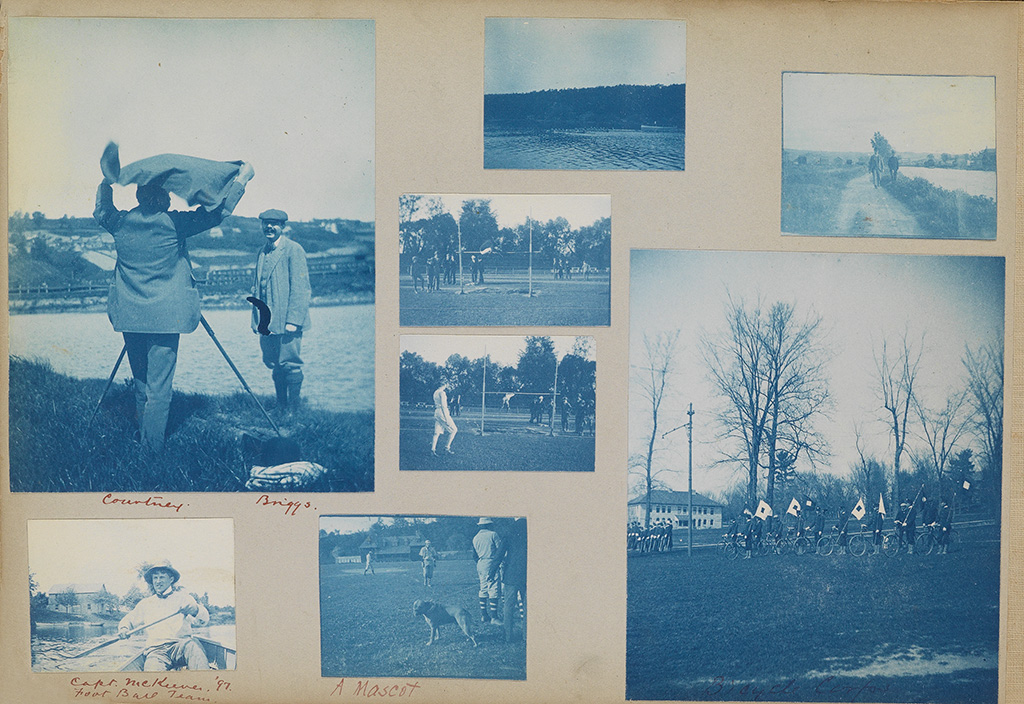(CORNELL UNIVERSITY AND ITHACA, NEW YORK) Slice-of-life snapshot album with more than 650 photographs that span a few years,
