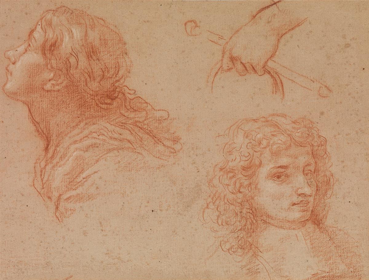 BALDASSARE-FRANCESCHINI-(Volterra-1611-1689-Florence)-A-Stud