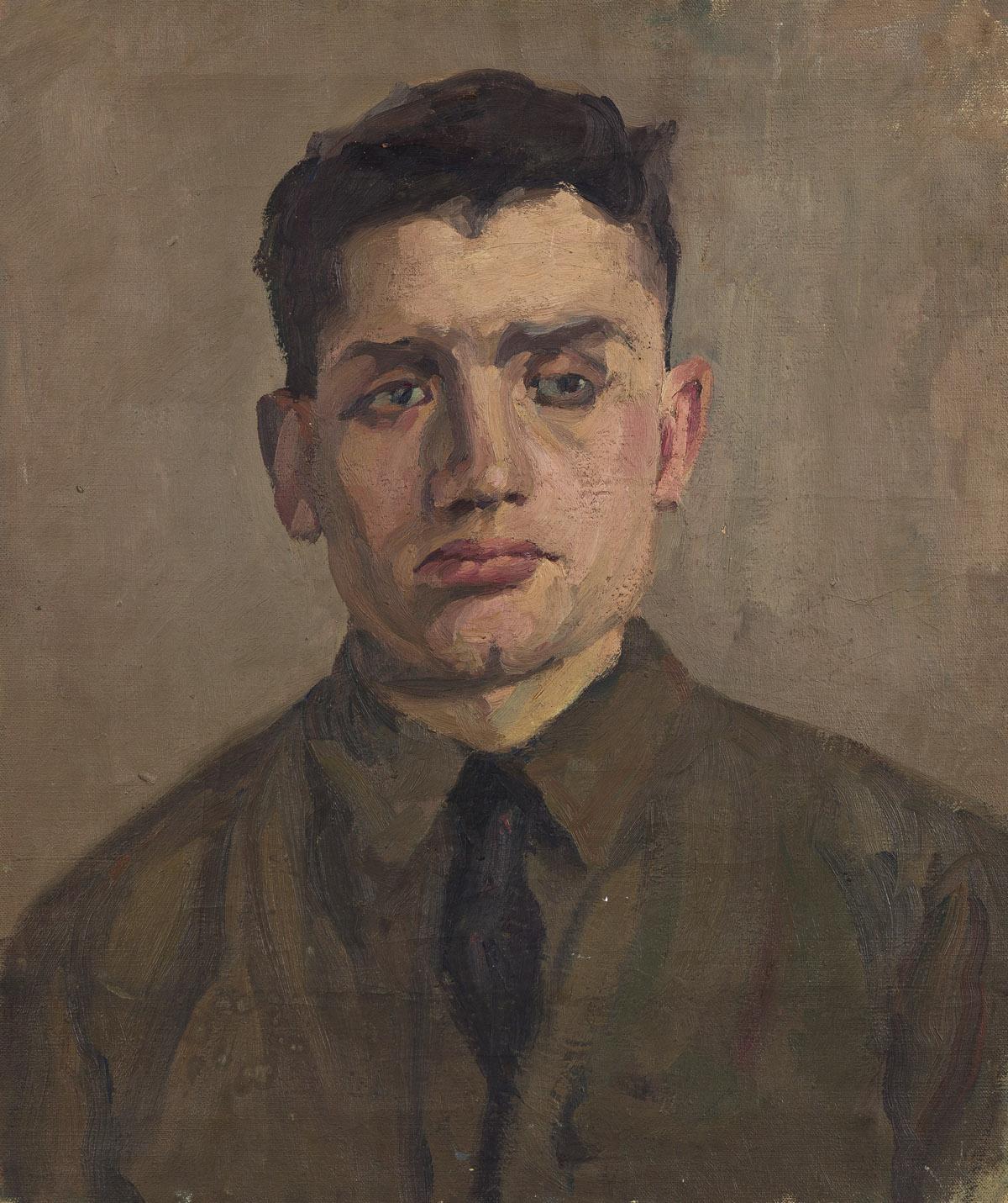 EUGENIE BAIZERMAN (1899-1949) Young Artist (Portrait of Saul Baizerman).