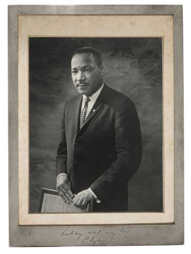 KING-MARTIN-LUTHER-JR-Photograph-Signed-and-Inscribed-[t]o-M