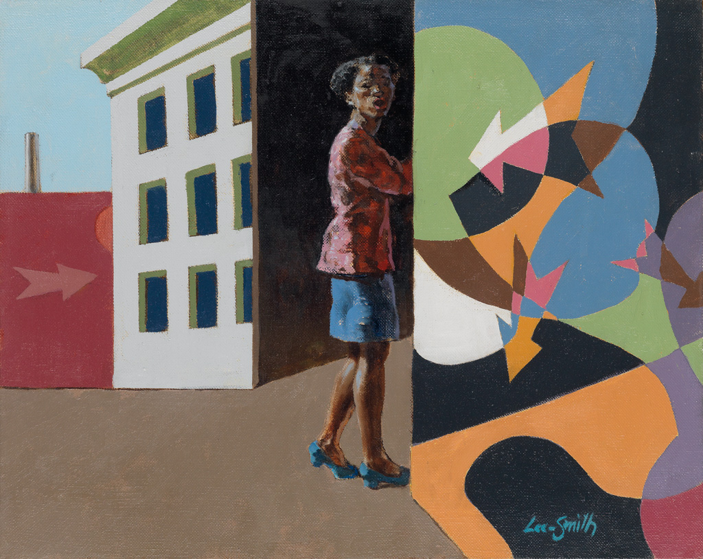 HUGHIE LEE-SMITH (1915 - 1999) Turning Point.