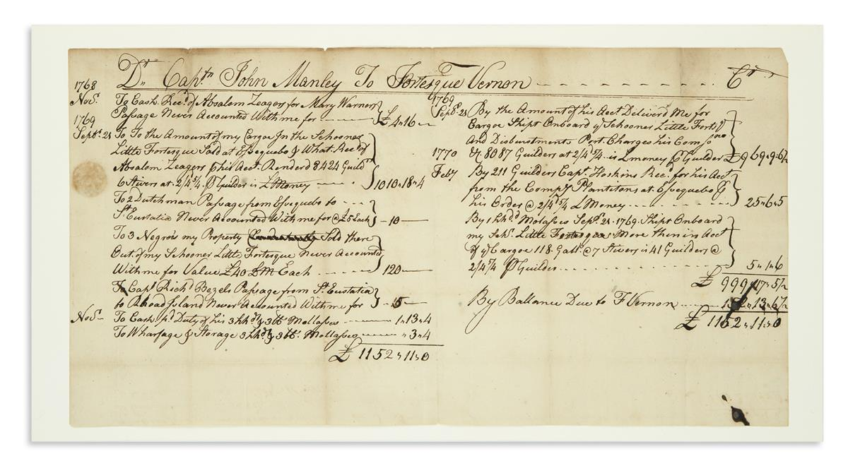 (SLAVERY-AND-ABOLITION)-Account-between-a-Boston-merchant-an